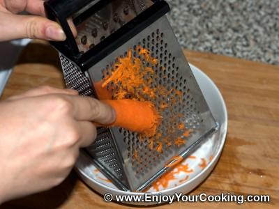 Fresh Carrots & Garlic Salad Recipe: Step 2