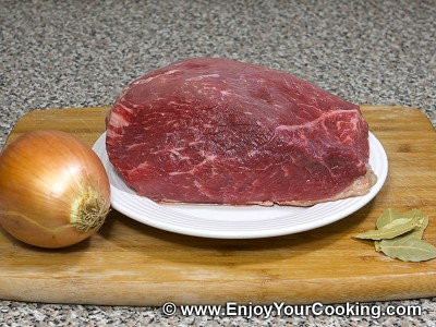 Beef Stroganoff Recipe: Step 1
