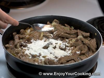 Beef Stroganoff Recipe: Step 9