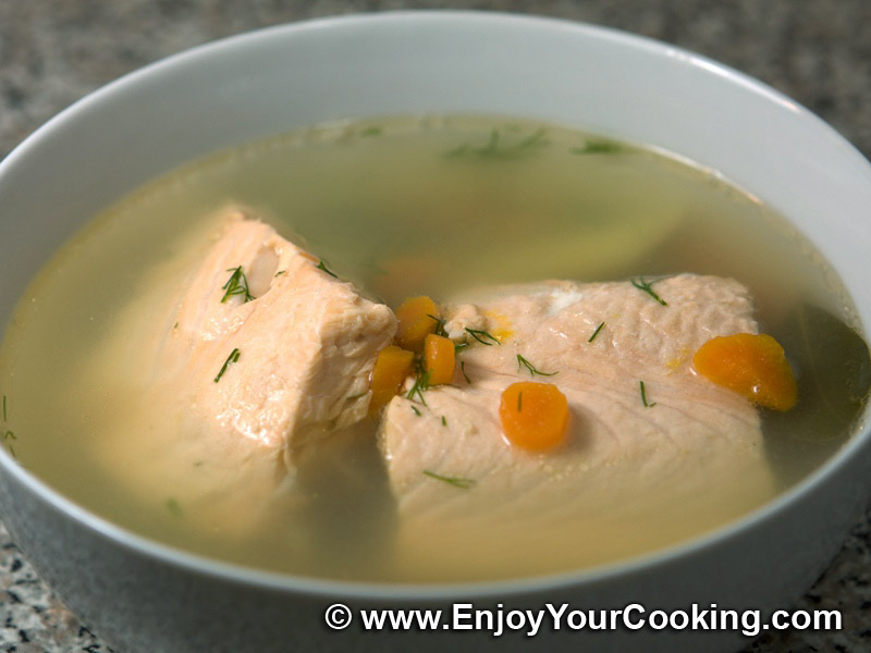 Russian fish soup uha recipe my homemade food for How to make fish soup