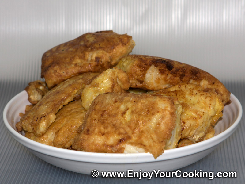 Pan fried cod fried fish recipe my homemade food for Fried fish recipes