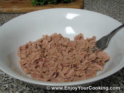 Green Tuna Salad Recipe: Step 2