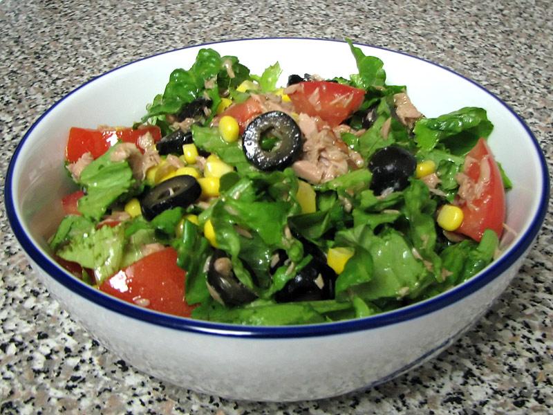 Recipes of tuna salad