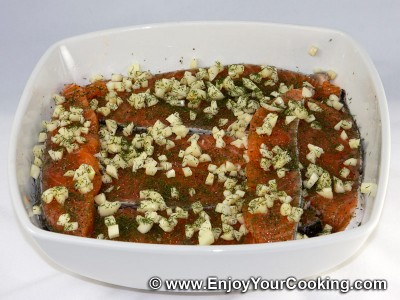 Fast Salted Salmon Recipe: Step 5