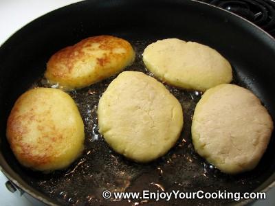 Potato Cakes in Tomato-Mushroom Sauce Recipe: Step 6