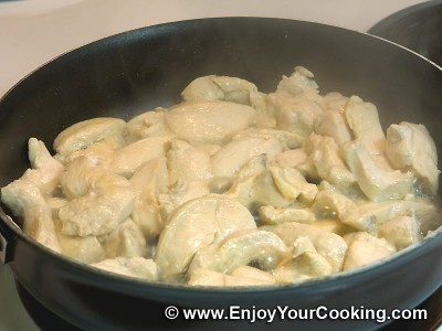 Stewed Chicken in Mushroom Sauce Recipe: Step 4