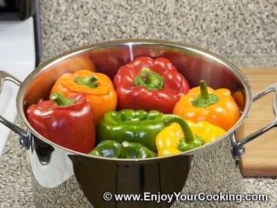 Stuffed Bell Peppers Recipe: Step 6