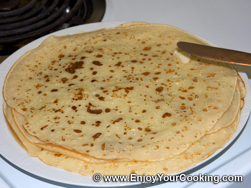Crepe Recipe Filling Cream Breakfast