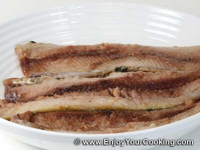 How to fillet a Salted Herring