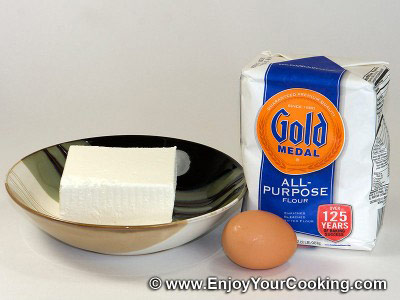 Fresh Cheese Pancakes Recipe: Step 1
