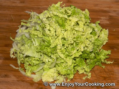 How to make cabbage salad