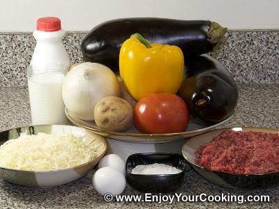Moussakas Recipe: Step 1