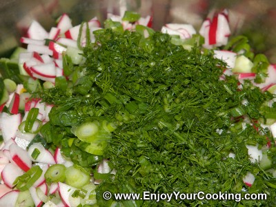 Okroshka Recipe: Step 8