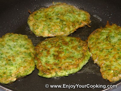 Zucchini Pancakes Recipe: Step 5