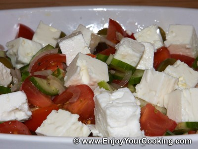 Greek Salad (Russian Variant)