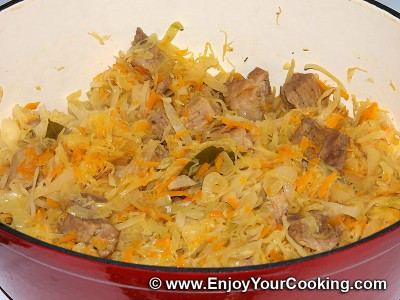 Bigos (Cabbage and Pork Stew) Recipe: Step 10