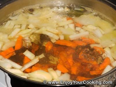 Lenten Borscht with Mushroom Dumplings Recipe: Step 13