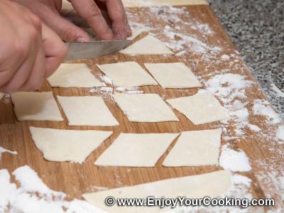 Lenten Borscht with Mushroom Dumplings Recipe: Step 16