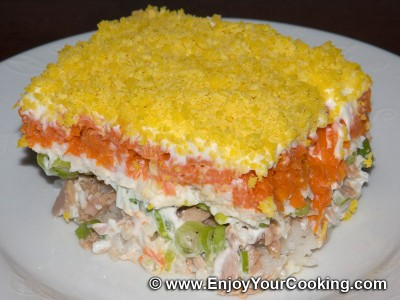Mimosa (Layered Fish Salad)
