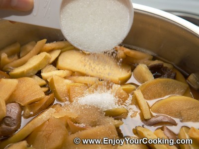 how to make kompot with apples