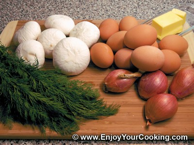 Stuffed Egg Shells Recipe: Step 1