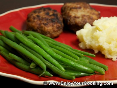 Green Beans Fried with Butter