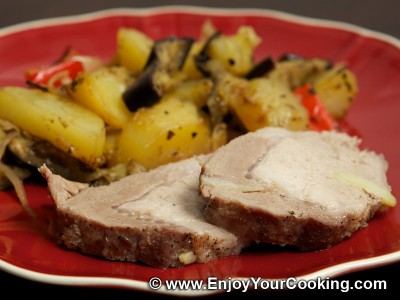 Pork Roast with Garlic