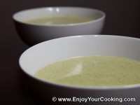 Soup Puree with Broccoli and Chicken