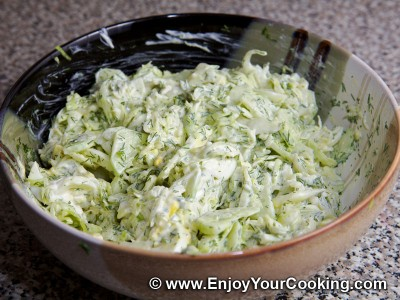 Cabbage and Cucumber Salad Recipe: Step 9