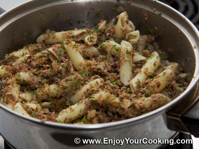 Macaroni with Ground Boiled Beef Recipe: Step 9
