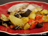 Potato Roast with Vegetables