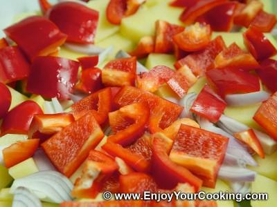 Potato Roast with Vegetables Recipe: Step 4