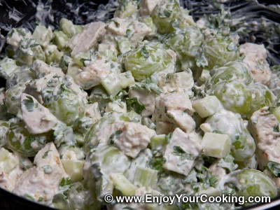 Chicken Salad with Celery and Grapes Recipe: Step 12