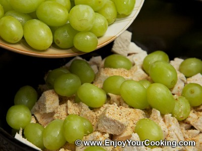 Chicken Salad with Celery and Grapes Recipe: Step 9