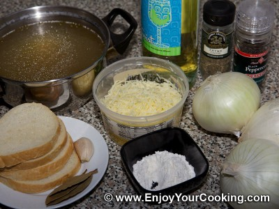French Onion Soup Recipe: Step 1