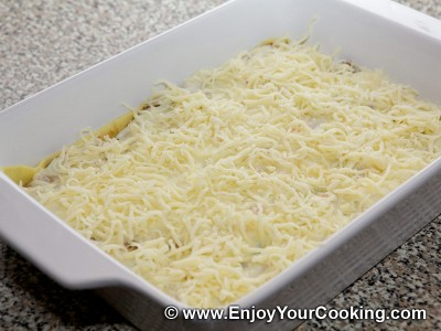 Lasagna with Beef and Vegetables Recipe: Step 23