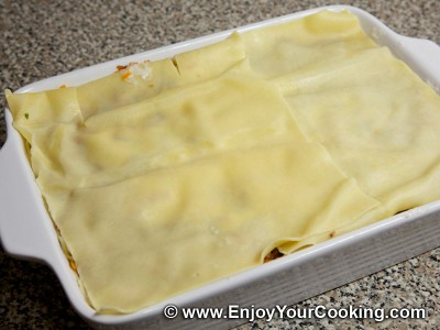 Lasagna with Beef and Vegetables Recipe: Step 24