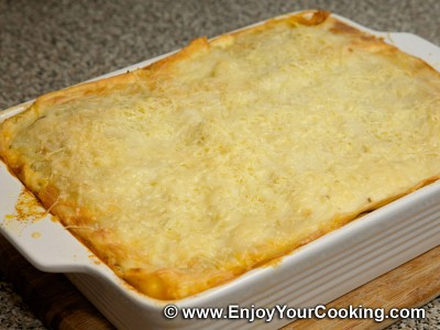 Lasagna with Beef and Vegetables Recipe: Step 26