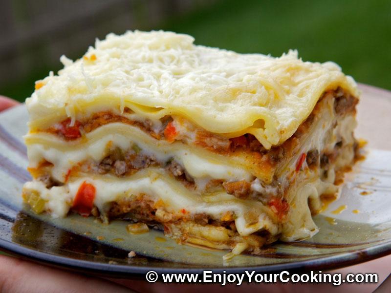 Recipes for meat lasagna