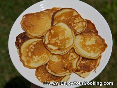 Russian Pancakes (Oladi) with Apple Recipe: Step 11