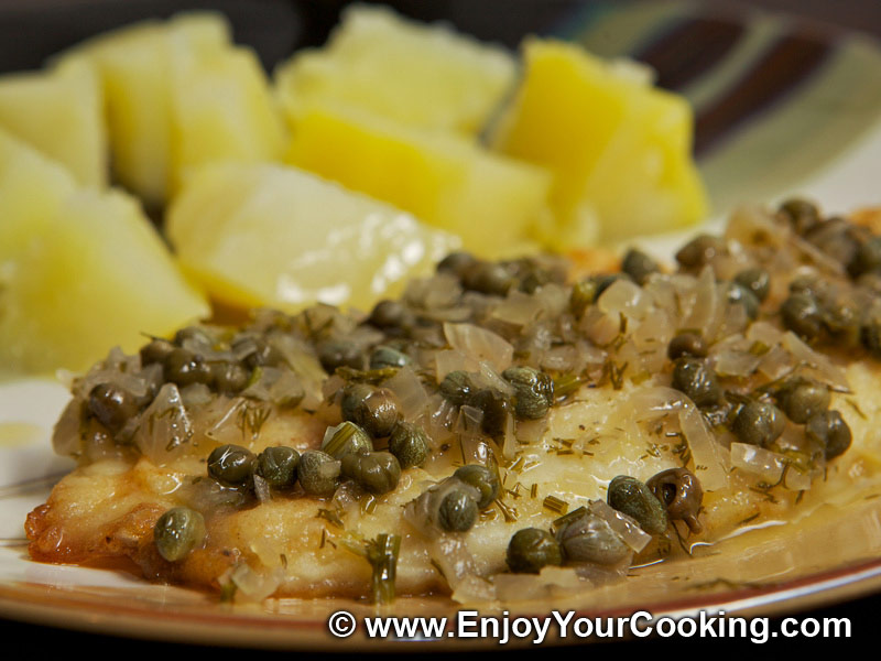 Capers recipes with fish