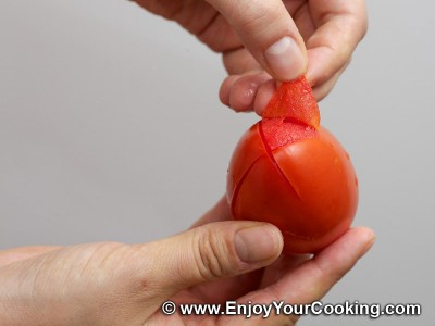 How to Blanch and Deseed Tomatoes: Step 5