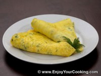 Omelette with Sour Cream and Cheese