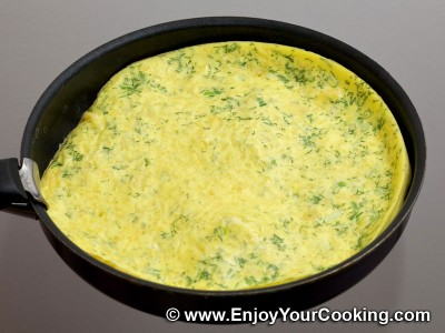 Omelette with Sour Cream and Cheese Recipe: Step 7