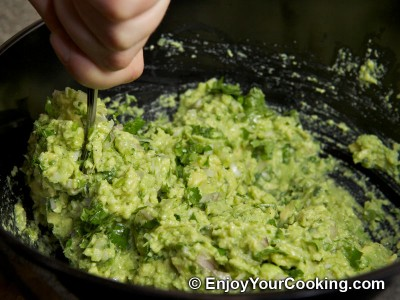 Spicy Guacamole Dip Recipe: Step 11