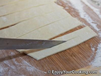 Khrustyky Pastry (Hvorost) Recipe: Step 11a