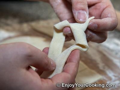 Khrustyky Pastry (Hvorost) Recipe: Step 11c