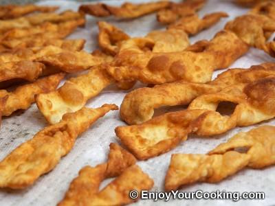 Khrustyky Pastry (Hvorost) Recipe: Step 14