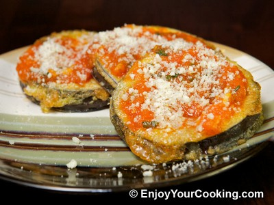 Eggplants with Tomato Basil Sauce and Parmesan Recipe: Step 14