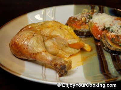 Whole Chicken Roast with Oranges